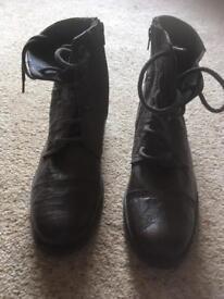 Men's brown boots