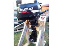Suzuki DF4 four stroke outboard 2003.