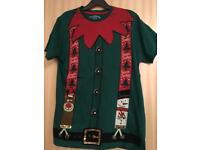 Christmas t shirt size S