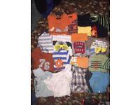 Boys 3-4 yrs t-shirts and shirts