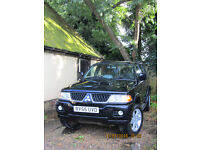 Mitsubishi Shogun 2.5 TD Warrior 5 door. Non - runner.