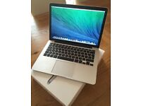 "MacBook Pro Retina 13.3"" 2.6GHz Processor i5 - 128GB SSD 8GB RAM Mid 2014 Model. excellent conditon."