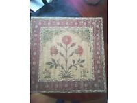 Laura Ashley tapestry wall hanging