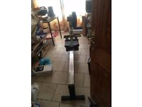 Concept 2 Rowing machine, little used, in perfect order.