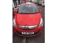 Vauxhall Corsa S 1.2, 2012, Super-Low Mileage, 12m MOT, 5 Door, Great Condition