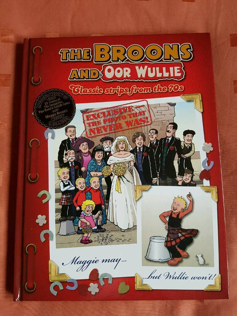 The Broons & Oor Wullie Classic Comic Strips from the 70s (Annuals ...