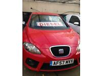 Seat Leon FR Tdi, 2007, long mot, new clutch and gearbox.