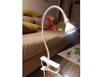 IKEA JANSJO wall/clamp lamp