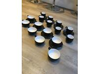 Denby cups and saucers and mugs 24pcs