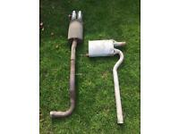 Audi A4 B5 1.8 none turbo exhaust for sale