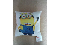 Brand new with tags Minion cushion