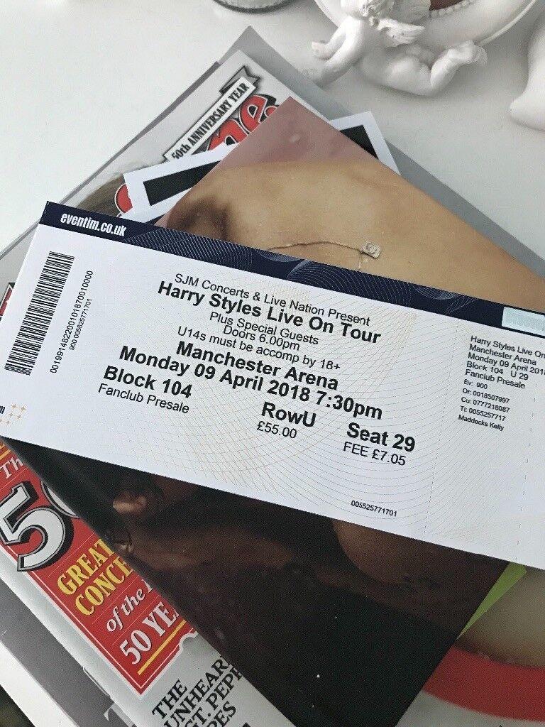 Harry Styles concert ticket