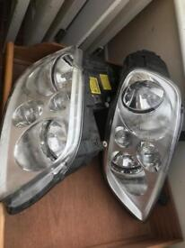 Vw Touran headlights and mirrors