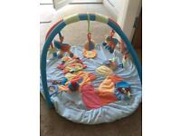 Baby play mat and fisher price potty