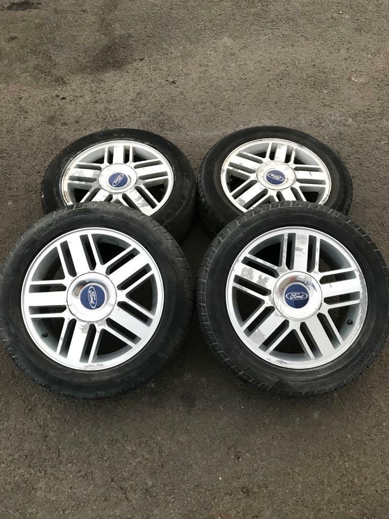 "Ford Focus mk2 ghia / Transit Connect 16"" Alloy Wheels 205/54/r16"