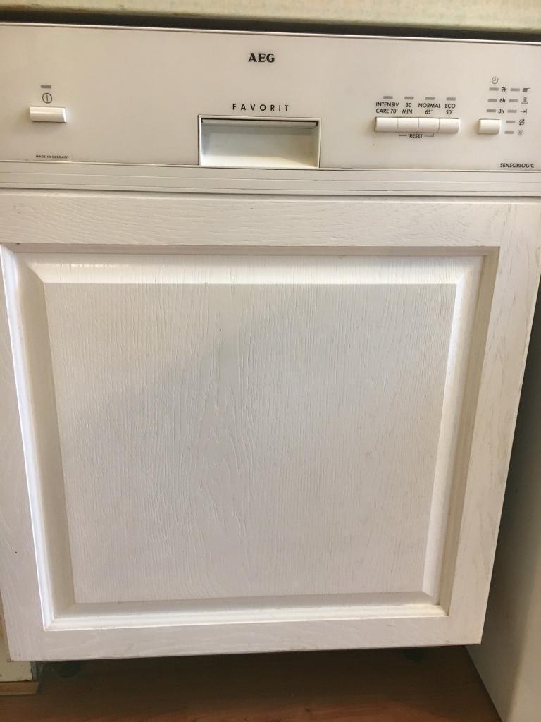 Aeg Dishwasher Free Integrated Favorit Sensorlogic 600mm In