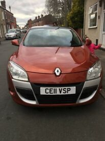 NEW PRICE!GREAT CAR! Renault Megane Coupe (2008 - 2013) MK 3 1.5 dCi ECO FAP Dynamique 3dr (Tom Tom)