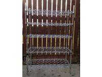 Steel Freestanding Wine Rack