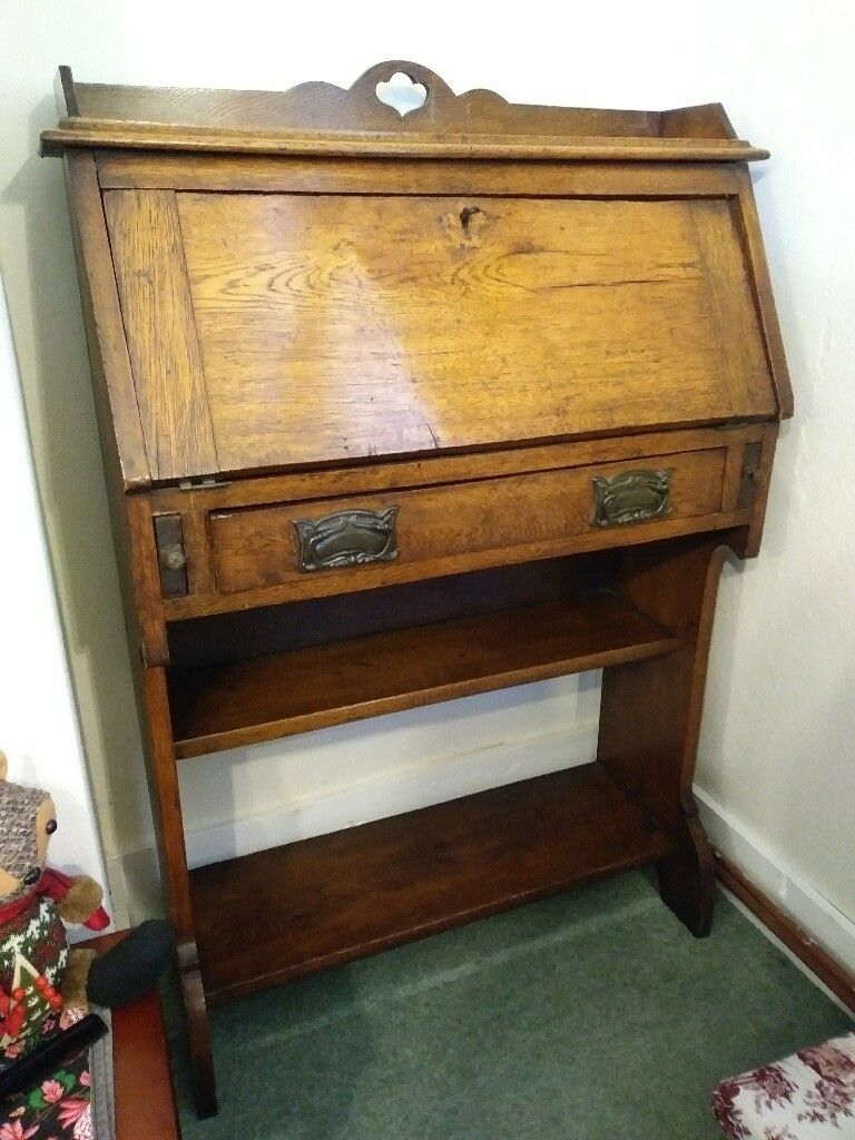 tag finisher fresh oak desk nz french source writing sale design s desks carved general home wood antique for elegant