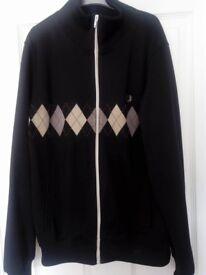 Black Fred Perry Sportswear Jacket