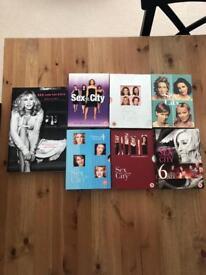 Sex and the City DVD season 1-6