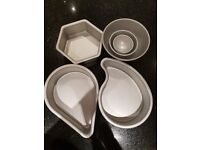 Lakeland shaped cake tins. Perfect condition.
