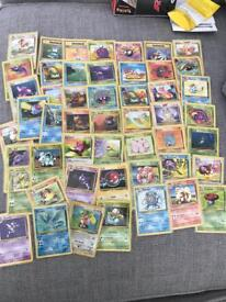 Pokemon 1st edition 1999 bundle