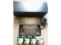 HP Officejet 7110 (A3/A4 Printer) + 3 of each cartridge (Magenta, Cyan, Yellow, Black XL)