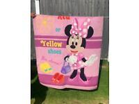 Minnie Mouse kids room rug