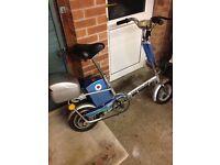 Trendline electric fold up bike