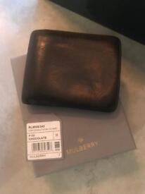 Mulberry Brown Wallet