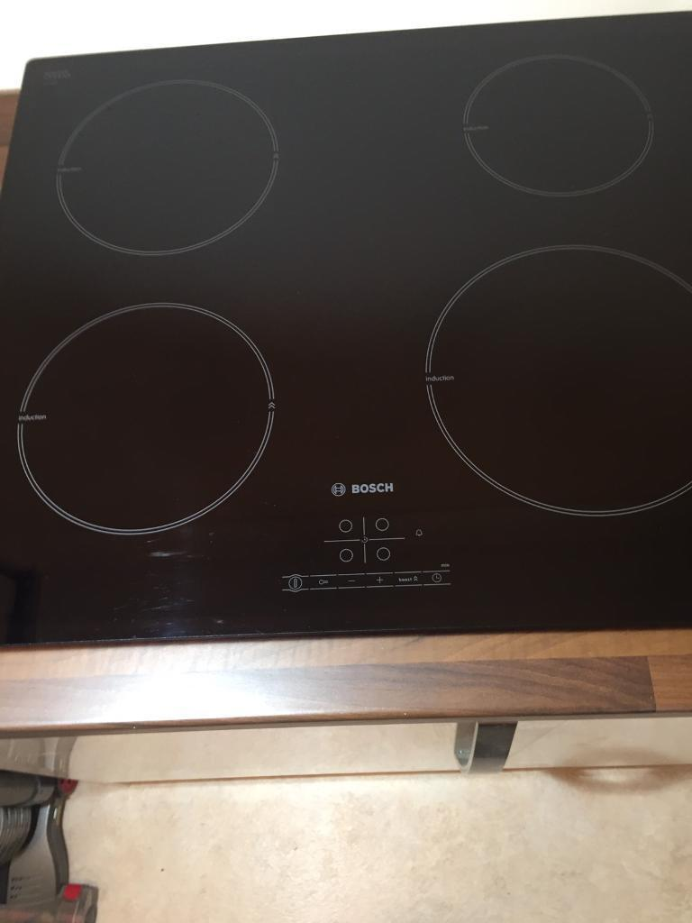 Bosch Induction Hob For Parts Or Repair