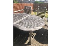 Free garden table - collect today !