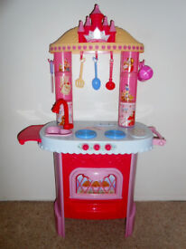 Children's Toy Cooker and Utensils