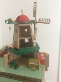 Sylvanian families windmill set