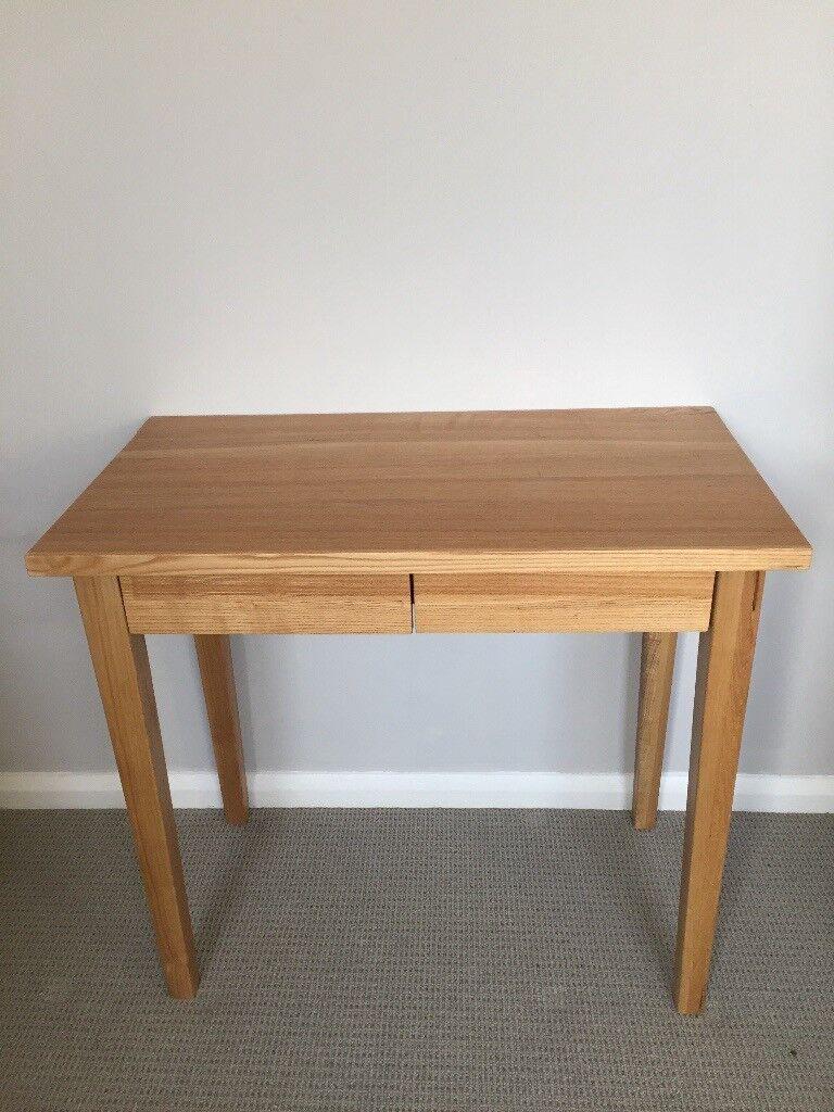 Lovely Compact Muji Oak Desk