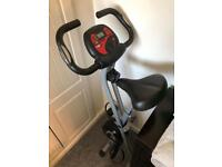 Ultrasport F-Bike, Bicycle Trainer, Home Trainer Collapsible Exercise Bike