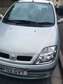 Renault sceinic automatic 2002 mot July 2017 £ 800