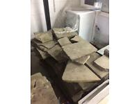 Used Yorkstone slabs