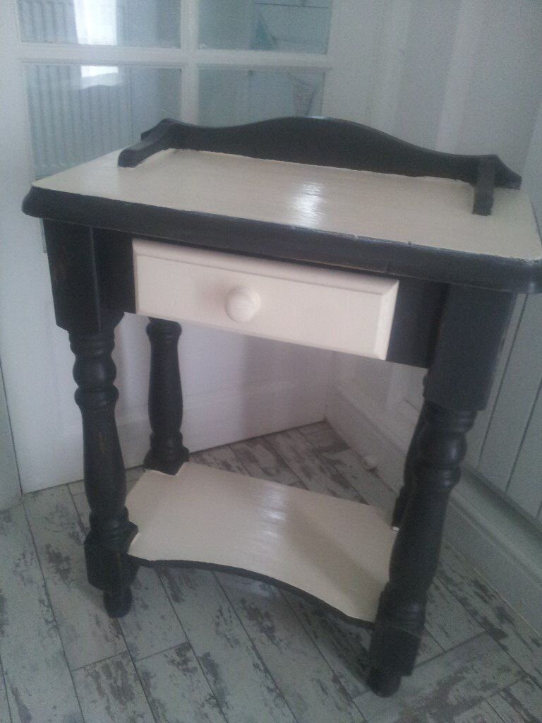 SOLID PINE CONSOLE ../.. HALL TABLE WITH DRAWER