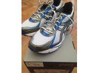 Asics Mens Trainers- GT-2160 White/Lightning/Royal Brand New Boxed Size 10