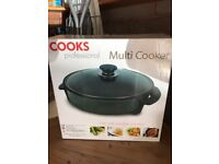 Cooks Professional Multi Cooker - New & Unopened