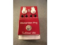 Fulltone Distortion Pro DP-1 overdrive pedal
