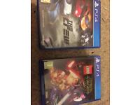 PS4 games crew & Star Wars