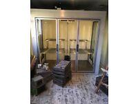 Large 3 door walkin fridge