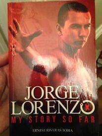 Jorge Lorenzo MotoGP book