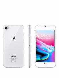 Apple iPhone 8 64GB Silver Smartphone Mobile - Vodafone - iOS 12MP A1905