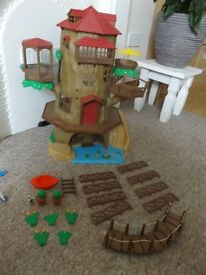 Sylvanian Families Hollow Oak Tree House and Nursery