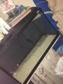 Upcycled fish tank