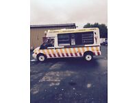 Ford transit ice cream van cocozza built .54 plate .